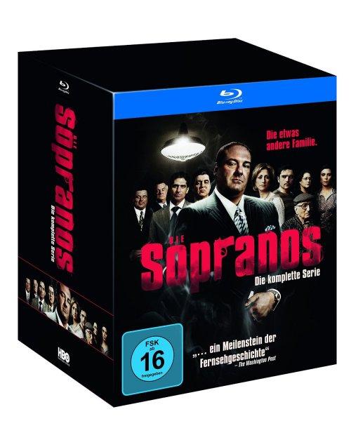 Sopranos - Die komplette Serie (inkl. Flachmann)  [Blu-ray] [Limited Edition] Blitzangebot