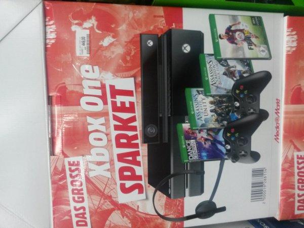 (Lokal) Mediamarkt Esslingen Xbox One Sparpaket für 449€