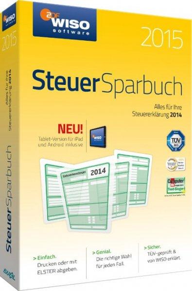 WISO Steuer-Sparbuch 2015 (für Steuerjahr 2014 / Frustfreie Verpackung)  22€