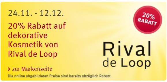 20% Rabatt für Rival de Loop bei Rossmann
