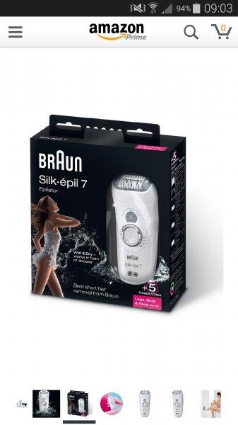 Braun 7681 WD Silk-epil Wet und Dry Epilierer