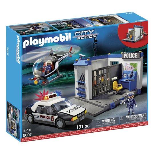 Playmobil 5607 Polizei Station für 33,96€ inkl. Versand bei realonline