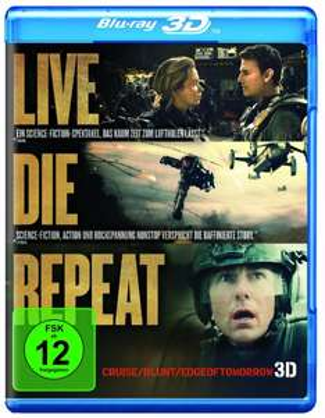 Edge of Tomorrow - Live.Die.?Repeat [3D Blu-ray] 19,97 € für Prime