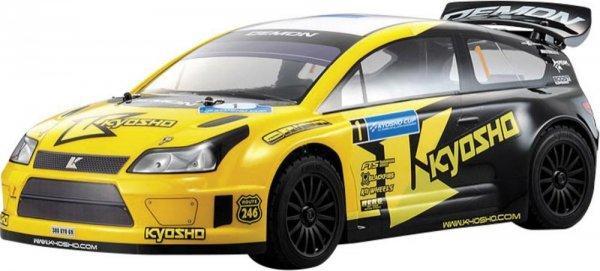 Kyosho R/S DRX Demon, 1:9, 2,4GHz RTR - Onroad-Modellfahrzeug mit Allradantrieb
