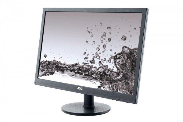 """AOC™ - 24"""" LED Monitor """"e2460Sh"""" (Full HD,TN Panel,Lautsprecher,HDMI,DVI,VGA,1ms) für €114.- [@GetGoods.de]"""