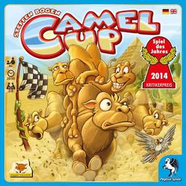 Camel Up - Spiel des Jahres 2014 - 11,79 @ amazon + ggf porto