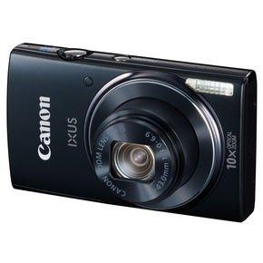 Canon IXUS 155 Schwarz - mit 20 MP und optischem10-fach Zoom für 83€ @Amazon.it