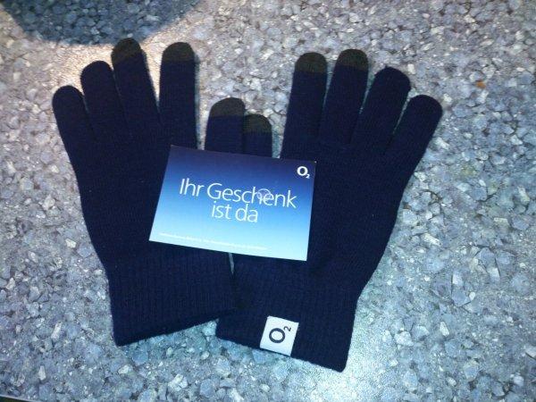 Gratis O2 Smartphone Handschuhe