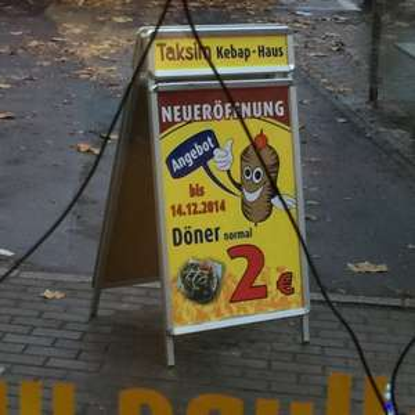 [Lokal] Döner bis Sonntag 2€ Dresden Trachenberger Platz