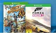 Forza 2 + Sunset Overdrive (Xbox One) für 75€ @Saturn.de