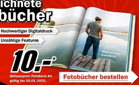 DIN A4 Hardcover Fotobuch für 10 Euro