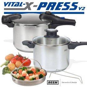 [ebay] Beem F1000.665 Vital X-Press 3 Ltr. + 6 Ltr. Schnellkochtopfset