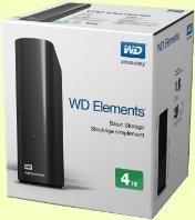 """[Saturn] WD Desktop 4 TB für 110€ -- BUNDESWEIT und @saturn.de -- externe 3,5"""" USB 3.0 Festplatte"""