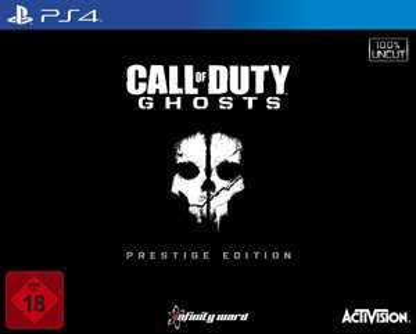 [Amazon.de] Call of Duty: Ghosts - Prestige Edition PS4 + XBOX