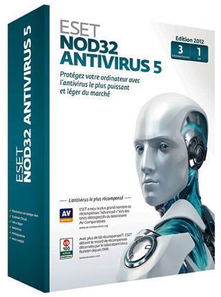 ESET NOD32 Antivirus 5 Jahreslizenz für 1,99€