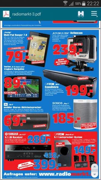 Canton DM 9 Soundleiste 199€ : Radiomarkt Gelsenkirchen