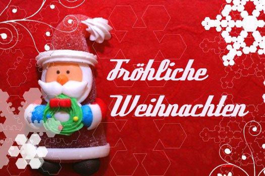 Gratis Weihnachtskarte an die Familie versenden