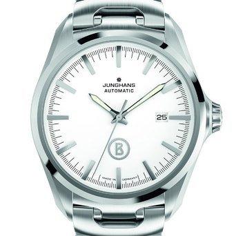 Junghans Herren-Armbanduhr XL Bogner Willy bei Amazon.de