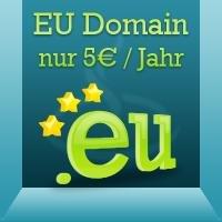 [netcup] EU-Domain für 0,42€/Monat
