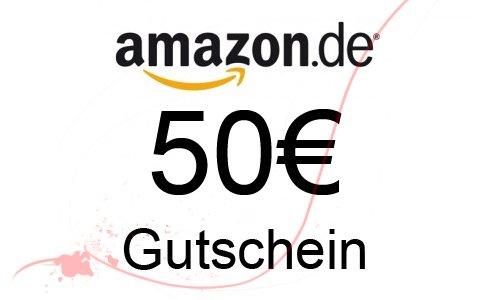 [AMAZON] Gutscheine im Wert von 50 EUR kaufen und wir schenken Ihnen 10 EUR