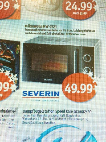 Severin  MW 9721 Mikrowelle 700 Watt 20L für 49,99€ ab KW 51  | Sky Märkte (Coop)