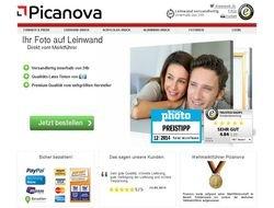 Picanova: Fotoleinwand -> Erste für 50% - zweite GRATIS.