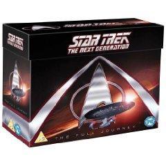 Star Trek - The Next Generation: Season 1-7 (49 DVDs) für 97,19 € inkl. Versand