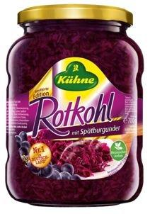 [REAL]KW51: Kühne Rotkohl mit Spätburgunder 720ml-Glas 0,16€ (Angebot + Scondoo)