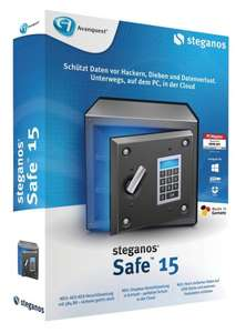 Steganos Safe 15 - gratis - aus dem Chip Downloadkalender -