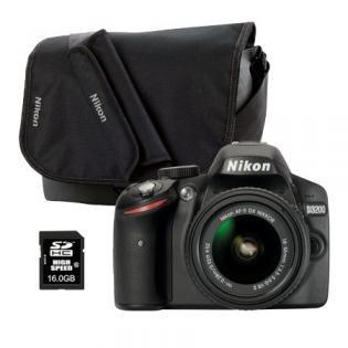 ADAC Mitglieder sparen 200,- € für die Nikon D3200 mit Tasche und 16GB Speicherkarte gratis.