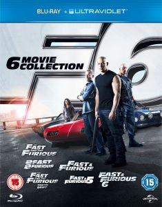 Fast & Furious Collection 1-6 als Blu-Ray incl. UltraViolet für 22,63€ @Zavvi.com
