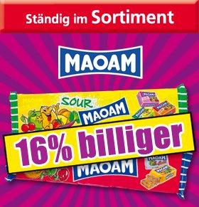 NORMA - MAOAM classic oder sauer für 0,79 € je 220 g Packung - Aktionszeitraum: 15.12. bis 21.12.2014
