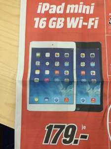 [LOKAL MM Weiterstadt] iPad mini 16GB WIFI für 179€