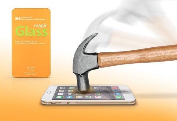 50% auf iPhone 5 / 5s / 6 / 6+ Magic Glass Gold Edition Displayschutzfolien aus Panzerglas