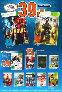 [bundesweit Saturn] Gears Of War 3 für 39€
