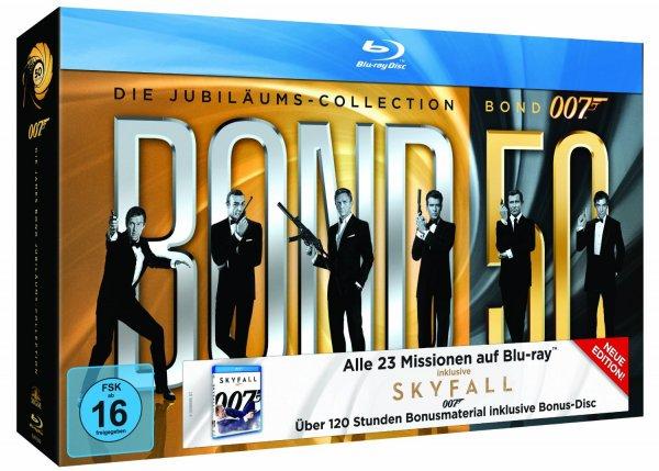 James Bond 007 Jubiläumscollection Blu-ray mit Skyfall