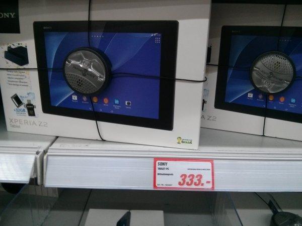 [Lokal MM Schoeneweide] SONY Z2 Tablet 16GB Wifi + DOCK + 32GB USB Stick