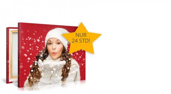 100x75cm Fotoleinwand für 24,90 Euro inkl. Versand