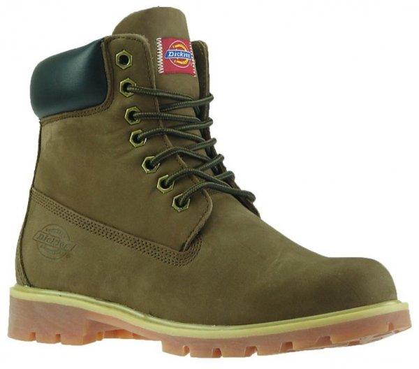 Winterschuhe DICKIES Boots Modell: Alpha, Leder-Stiefel für Damen, Herren & Kinder für 39,99 @ebay.de