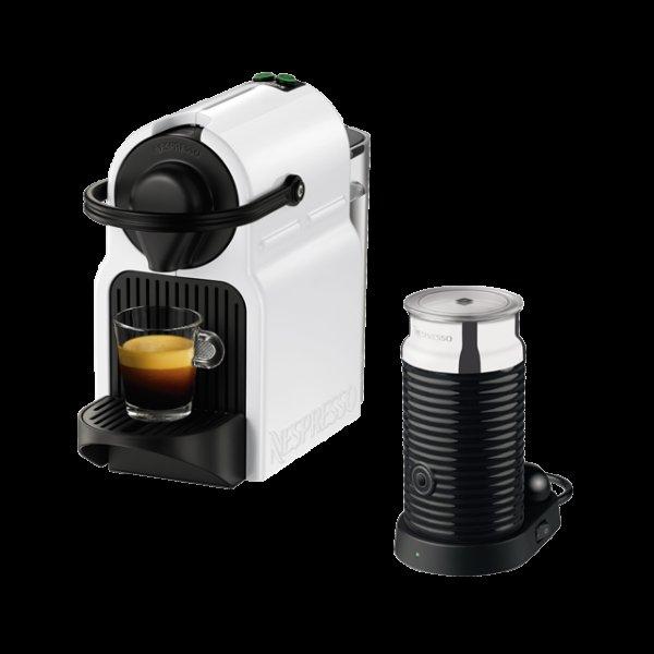 (lokal Berlin) Krups Nespresso Inissia XN 1001 Bundle ( Milchaufschäumgerät und 70€ Cashback) effektiv 29 €