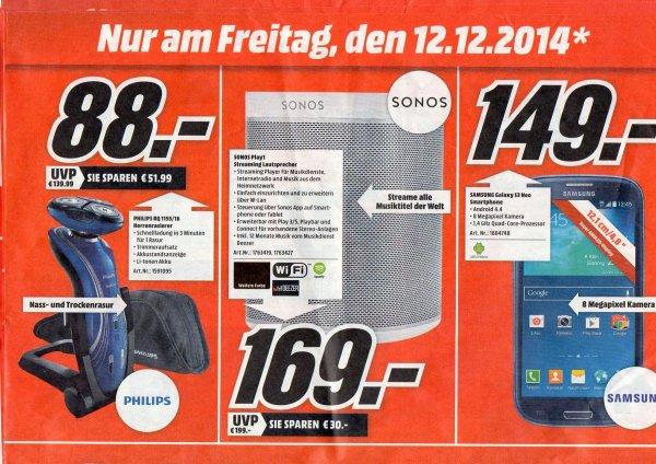 [lokal Hamburg] Samsung Galaxy S3 Neo für 149€ bei Media Markt