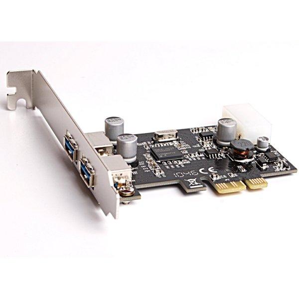 USB 3.0 PCI-Express PCIe x1 Karte für nur 5,55€ inkl. Versand - ideal zum aufrüsten.