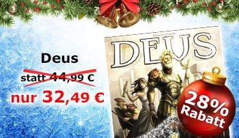Deus im Spiele-Offensive Adventskalender 30,49€ (Neukunden 27,49€)