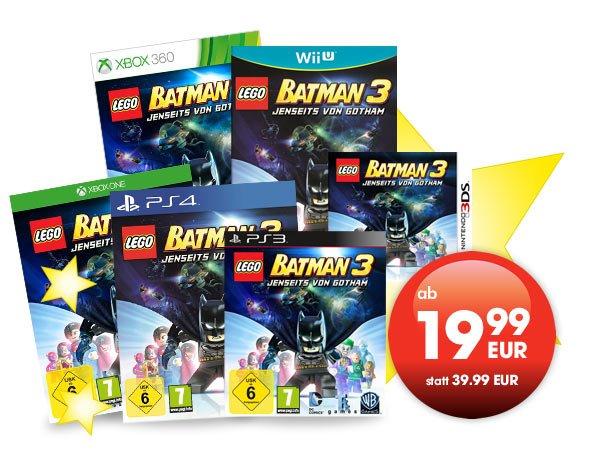[GameStop offline] Lego Batman 3: Jenseits von Gotham (3DS 19,99€)