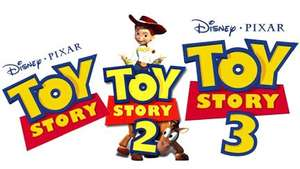 [AMAZON] Toy Story / Toy Story 2 / Toy Story 3 - Box [3 DVDs]
