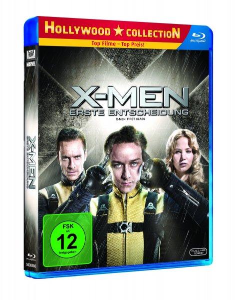 Blu-ray - X-Men: Erste Entscheidung ab €5,99 [@Amazon.de/Media-Markt.de]