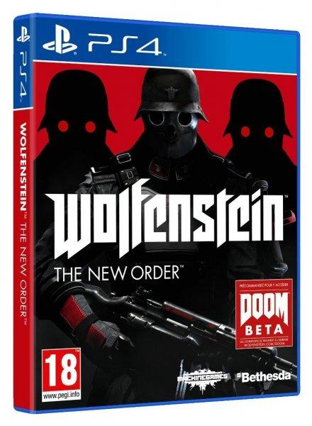 Wolfenstein : The New Order - XBOX One Version - für 26,56€ | PS4 Version für 23,68€ bei Amazon.fr