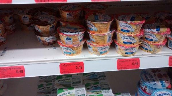 Wasgau Trier (evtl. lokal): Landliebe Grieß-Pudding für 9 Cent dank Scondoo App (evtl. + 2 % Studentenrabatt)