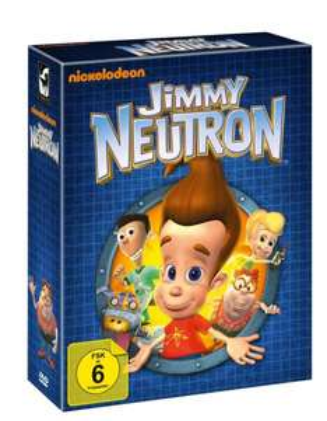 Jimmy Neutron DVD-Komplettbox heute nur 59,95 €