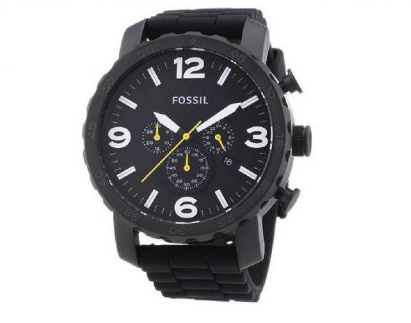 FOSSIL Herren Armbanduhr Quarz Silikon Nate JR1425 @meinpaket für 70€